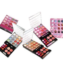 Princessa Eyeshadow/ Lip Set Dimensions: 12.5Lx4Wx5.5H (JC220)