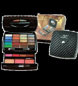 BR 20 Eyeshadow/ 4 Lip Gloss/ 3 Blush/ 1 Mascara Dimensions: 10Lx4.75Wx1H (JC229-3)
