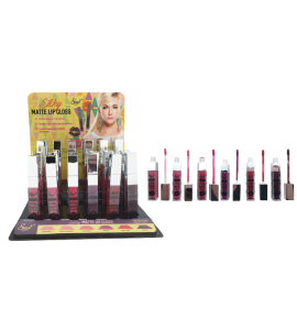 Starry Matte Lip Gloss (LG-330A) Starry (one piece)