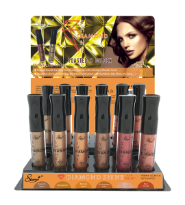 Diamond Shine Metallic Lip Gloss (Toasted & Golden) Starry (LG201A)
