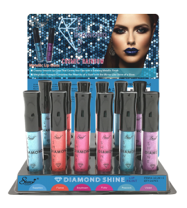Diamond Shine Metallic Lip Gloss (Cosmic Rainbow) Starry (LG201C)