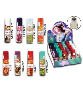 Massage Oil (MASSAGEOIL) Malibu Glitz 8 scents 36 piece display