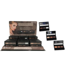 3 Colors Eyebrow Palette Malibu Glitz (MG454)