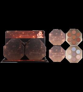 Cosmic Glow Highlight & bronzer Palette (one piece) MG-648 (MALIBU GLITZ)