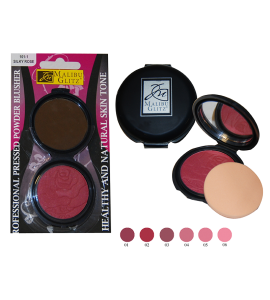 Pressed Powder Blusher (MG101) Malibu Glitz (one piece)