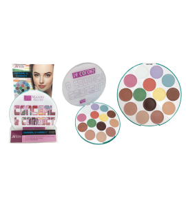 MG 14 Colors Conceal & Correct Palette (MG32) Malibu Glitz (one piece)