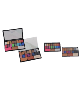 19 Colors Makeup Collection Palette Malibu Glitz (MG453)
