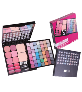 Malibu Glitz 63 Eyeshadow/Blush/Lip Set Dimensions: 7.75Lx12Wx1H (MG806)