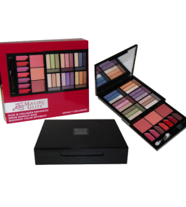 Malibu Glitz Profesional Studio Makeup Kit Dimnesions: 8.5Lx4.25Wx1H (MG811)