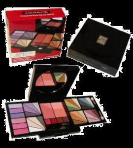 Malibu Glitz Eyeshadow Sheer Makeup Kit Dimensions: 9Lx10.75Wx4.75H (MG813)