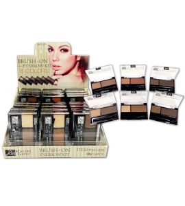 Brush On Eyebrow Kit (MG830) Malibu Glitz (one piece)