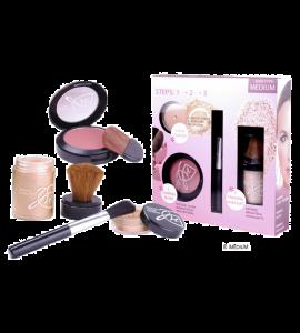 Malibu Glitz Mineral Makeup Set Dimensions: 7.75Lx81.25W8.25H (MP21-1)
