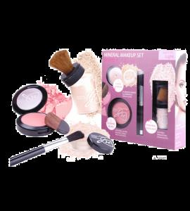 Malibu Glitz Mineral Makeup Set Dimensions: 7.75Lx81.25W8.25H (MP21)