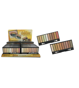 Princessa Golden Eyeshadow Palette 10 Colors (PR-107A&B) Princessa (one display)