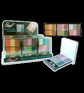 Multi-Color 6 Eyeshadow Palette (PR1101) Starry (one display)
