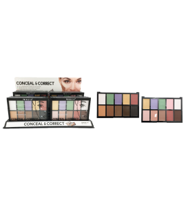 Princessa 10 Colors Conceal & Correct Palette (PR115) Princessa (one piece)