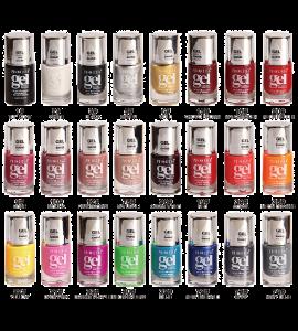 Gel Effect Shine Polish (PR44) Princessa 24 colors 72 piece display