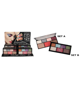 Eyes & Face 4 Eyeshadow + Highlighting + Blush + Bronzer (PR-66) Princessa (one display)