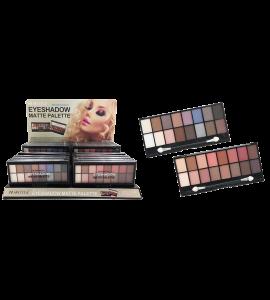 Princessa Eyeshadow Matte Palette 16 Colors (PR-74A&B) Princessa (one display)