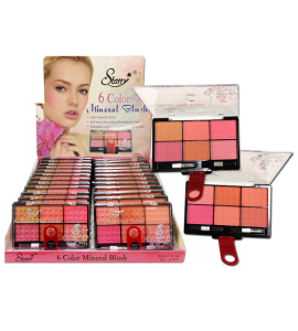 Starry 6 Color Mineral Blush (SE191) Starry (one piece)