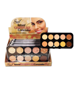 10 Color Natural Camouflage Concealer (SE203) Starry (one piece)