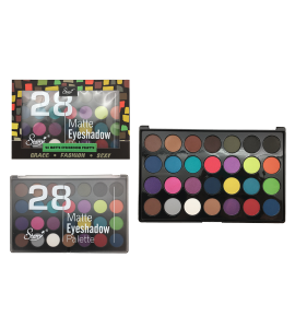 Starry 28 Matte Eyeshadow Palette (SE-312A) Starry (one piece)