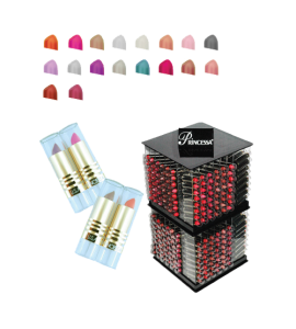 Princessa Lipsticks (US003) Princessa (one display)